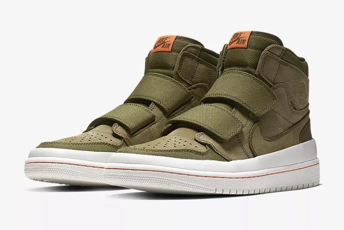 Air Jordan Double Strap Olive 3