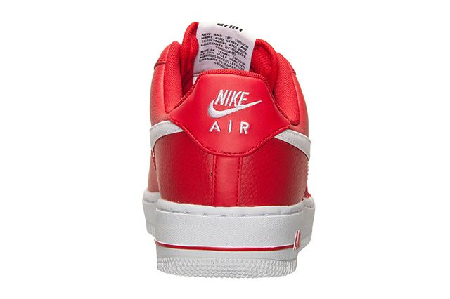 Nike Air Force 1 University Red 4
