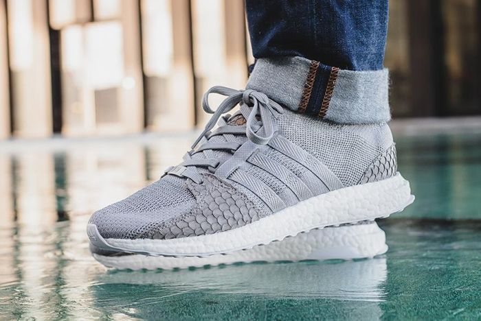 Pusha T X Adidas Eqt Ultra Boost Pk Grey Scale 7