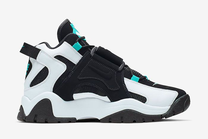 Nike Air Barrage Mid Black White Cabana At7847 001 Release Date 2 Side