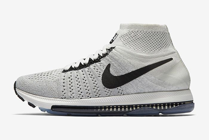 Nike Zoom All Out Flyknit Light Grey 4
