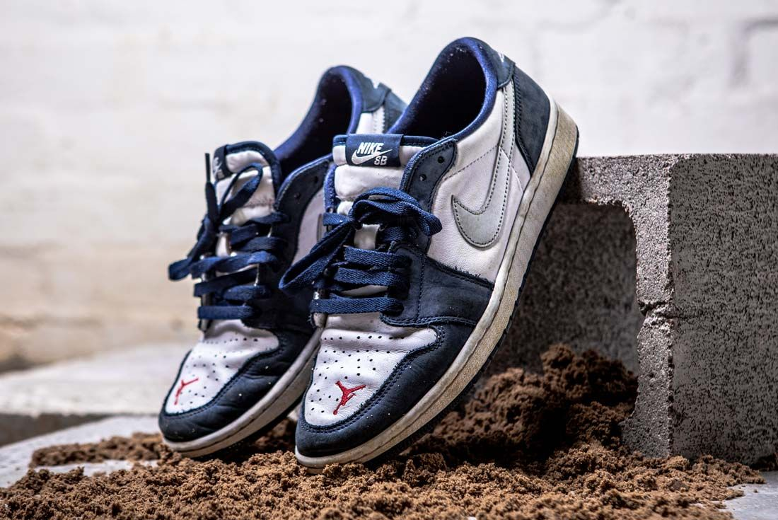 Nike Eric Koston Aj1 Low Dirty Pair