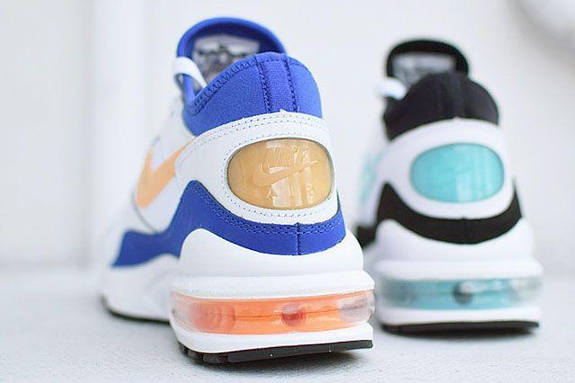 Nike Air Max 93 Menthol Citrus Og Heel