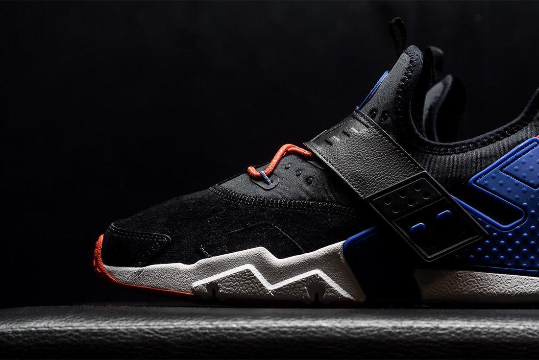 Nike Air Huarache Drift Premium Black Rush Violet Rush Orange Ah7335 002 Sneaker Freaker 9