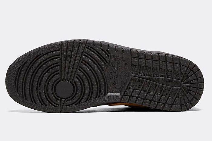 Nike Air Jordan 1 Low Gold Swoosh Sole