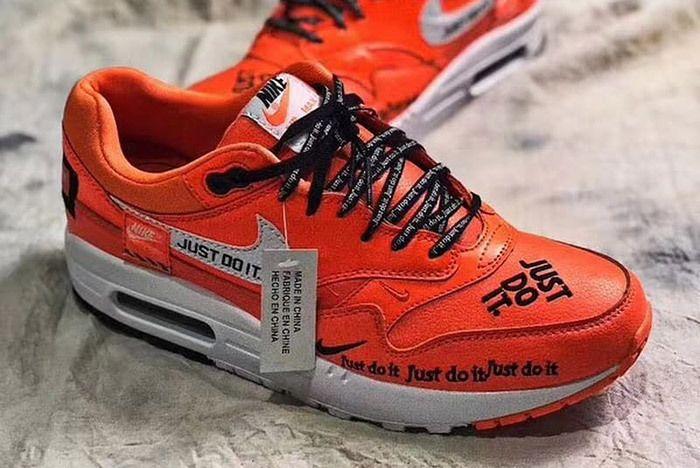 2 Nike Air Max 90 Just Do It Orange