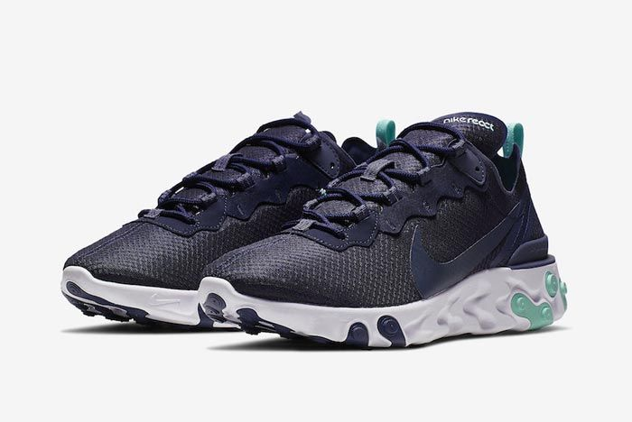Nike React Element 55 Dark Obsidian Pair