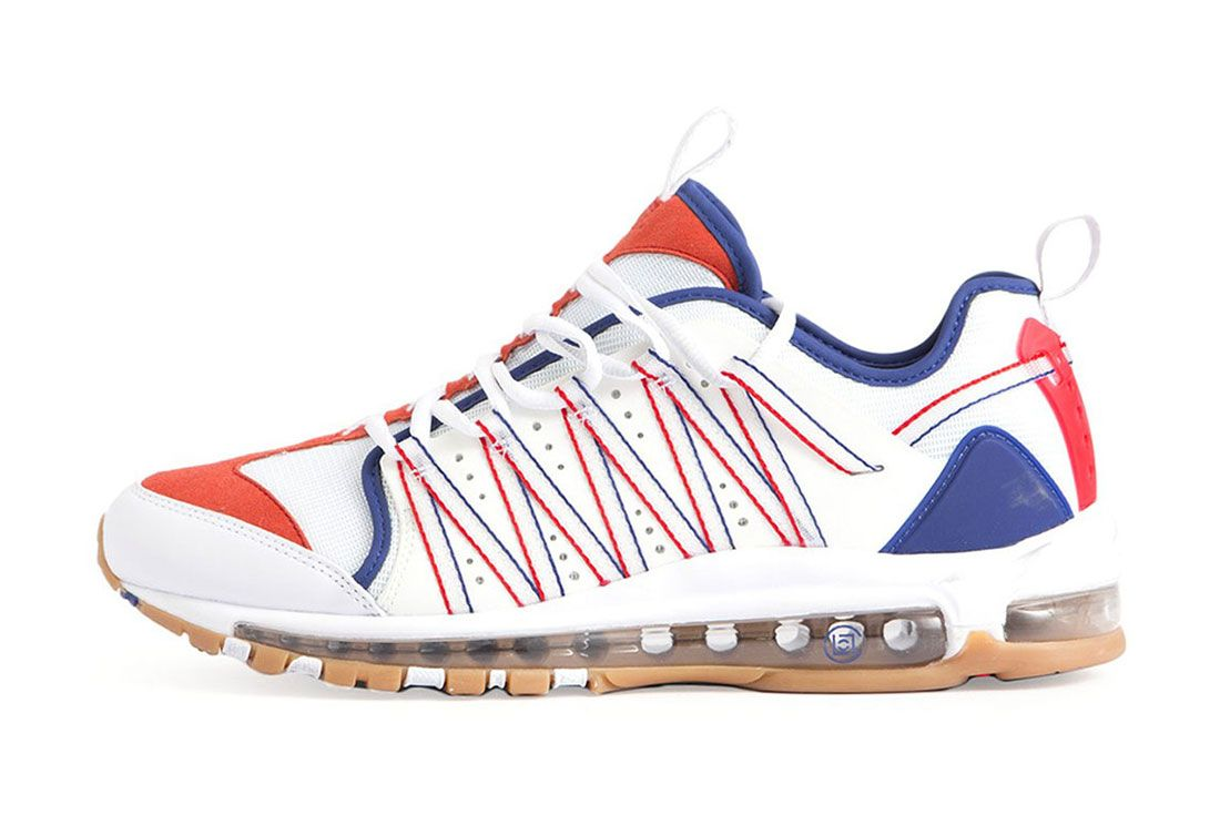 Clot Nike Air Max 97 Haven Red Blue Side Shot 3