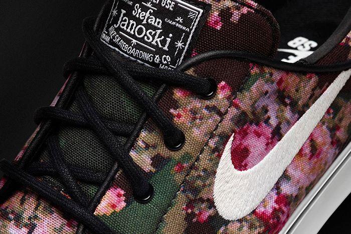 Nike Sb Zoom Stefan Janoski Digital Floral 20162