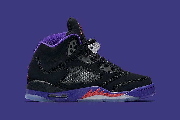 Air Jordan 5 Retro Gs Fierce Purple Raptors 6