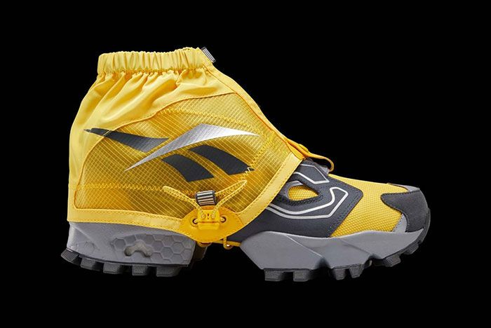 Reebok Instapump Fury Trail Shroud Yellow Cover Lateral