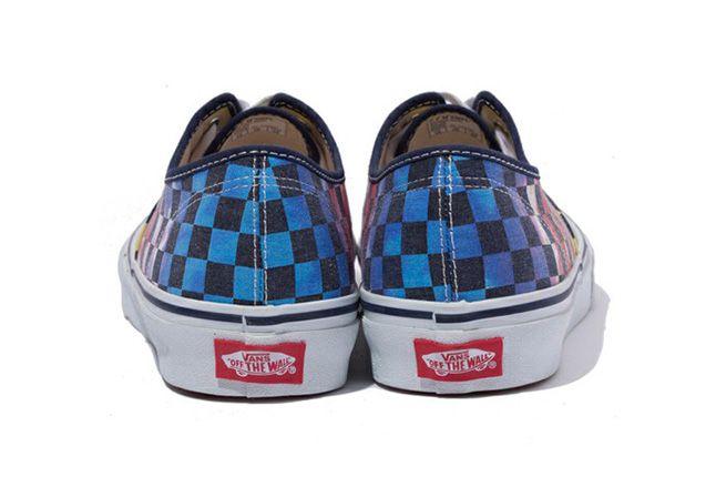 Xlarge Vans Authentic Tie Dye Checker Flag 3 1