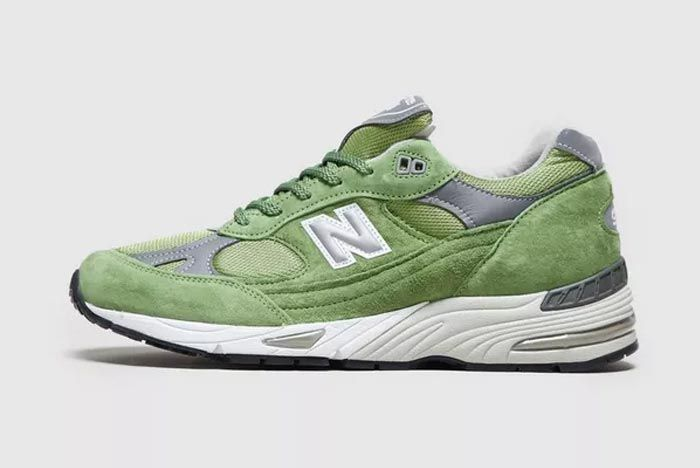 New Balance 991 Made In England Lateral