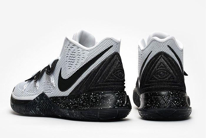 Nike Kyrie 5 Cookies And Cream Heel