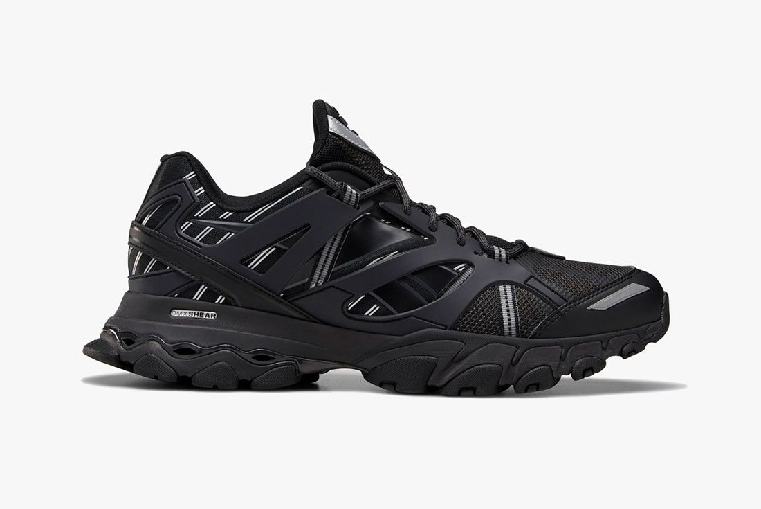 Reebok Dmx Trail Runner Triple Black Righ