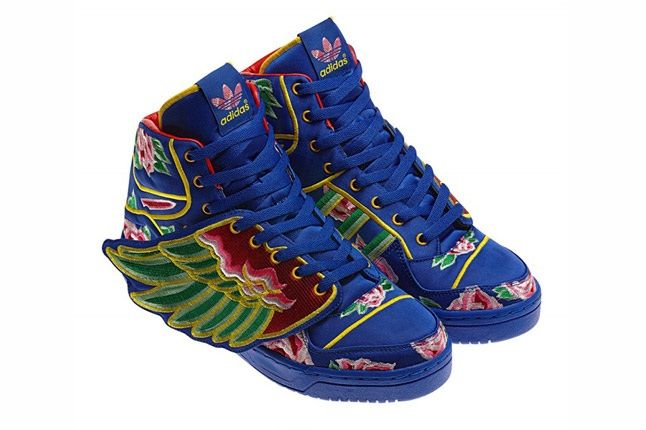 Eason Chan X Adidas Originals By Jeremy Scott 2013 Js Wings Side 1