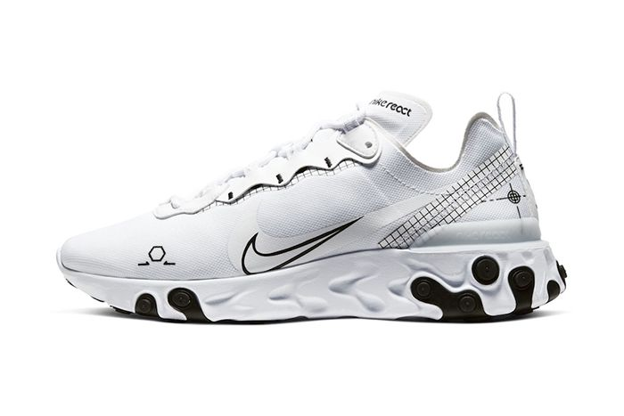 Nike React Element 55 Schematic Release Date Lateral