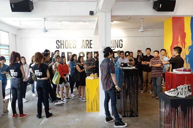 Converse Unveil Their Spring 14 Collection In Bangkok 8