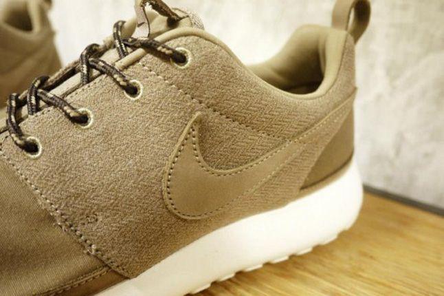 Nike Roshe Run Premium Nrg Khaki Details 1