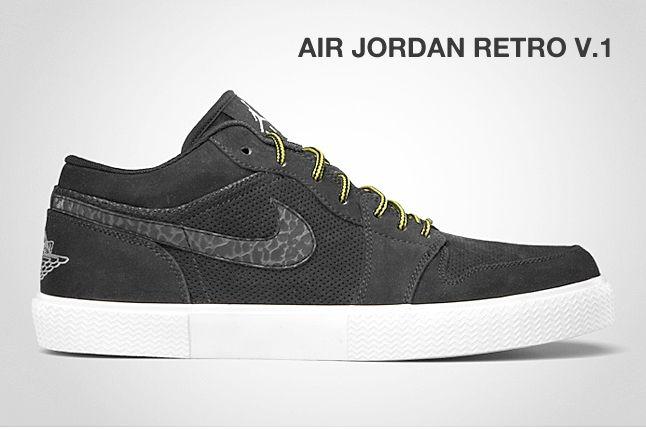 Air Jordan Retro V 1 Black 1