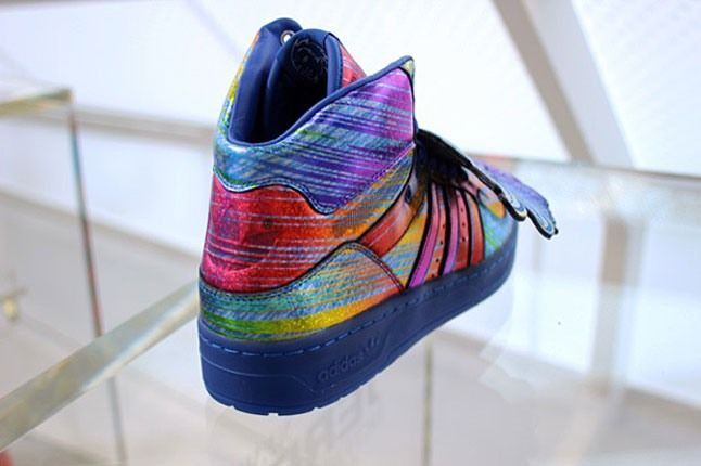 Adidas Jeremy Scott Rainbow Holograph 4 1