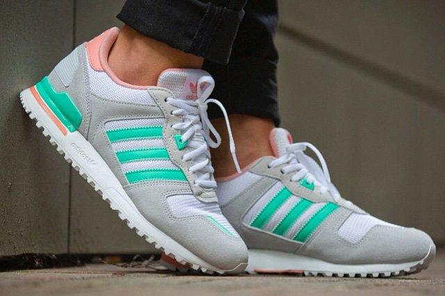 Adidas Originals Zx 700 Salmon Mint 5