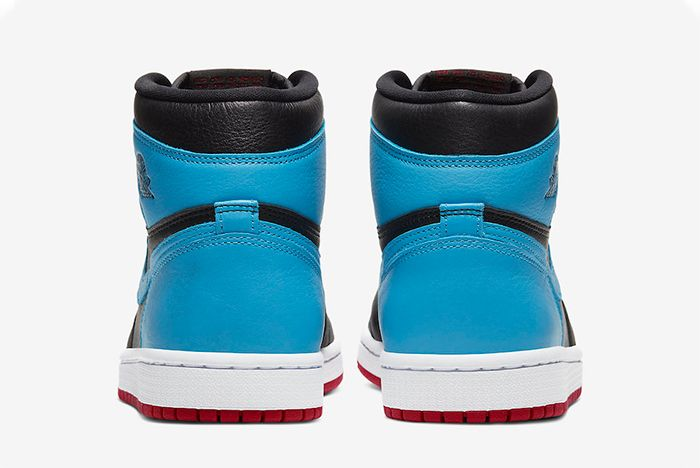 Air Jordan 1 Unc To Chicago Heel