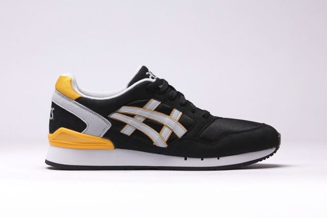 Asics Gel Atlantis Black Yellow 7