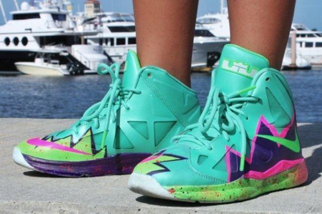 Nike Lebron 10 Gs Custom Pow 4 1
