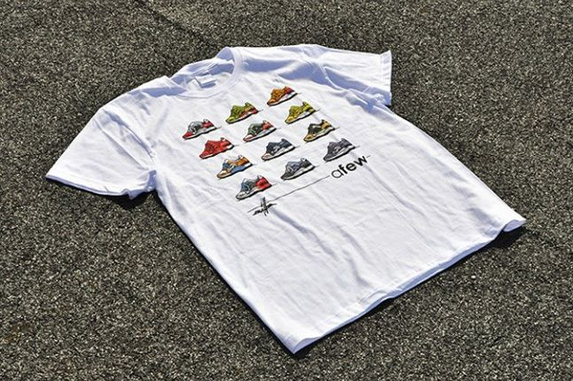 Afew X Kwills Best Of Gel Lyte Iii Shirt 1
