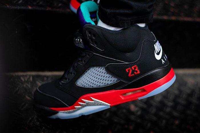 Air Jordan 5 Top 3 Cz1786 001 On Feet Release Date 3 Leak