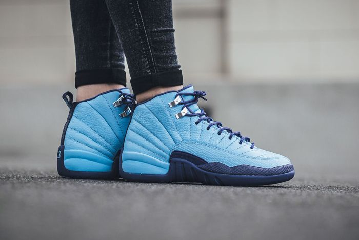 Air Jordan 12 Blue Cap 2