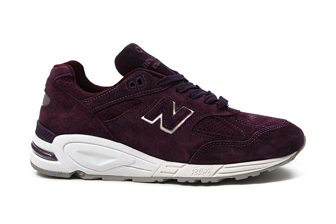Concepts New Balance 990V2 Tyrian Purple Lateral