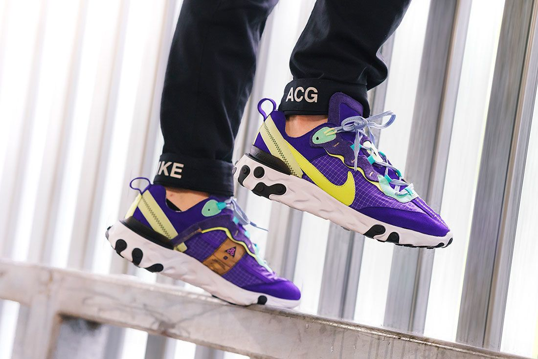 Bespoke Ind Nike React Element 87 Acg On Foot 15