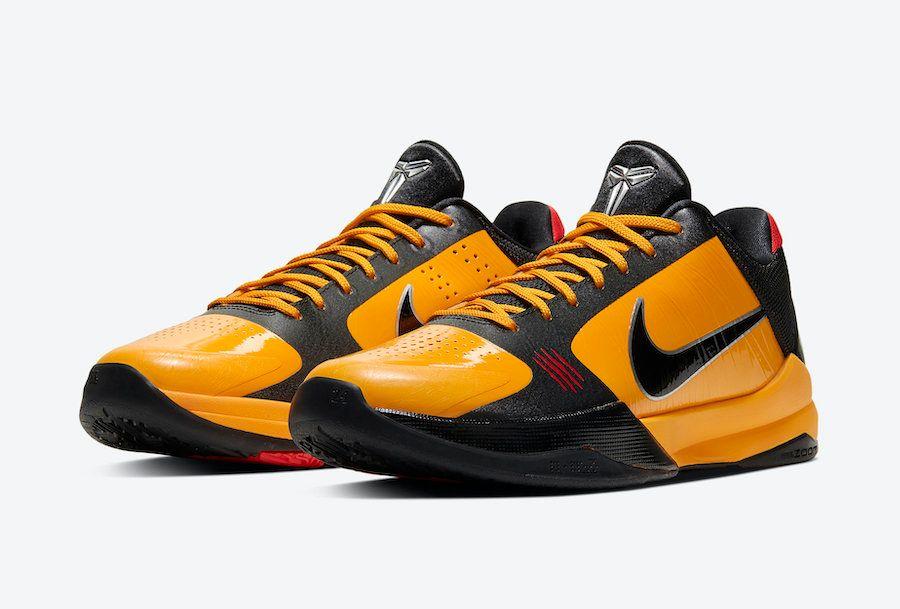 Nike Kobe 5 Bruce Lee Angled