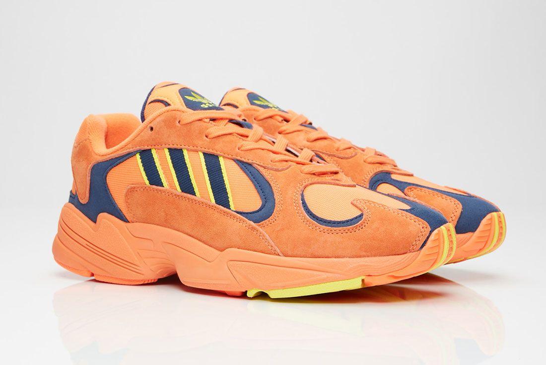 Adidas Yung 1 Orange Pair Side Shot
