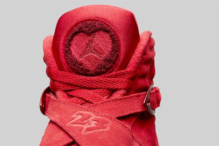 Air Jordan 8 Valentines Day Aq2449 614 Sneaker Freaker 4