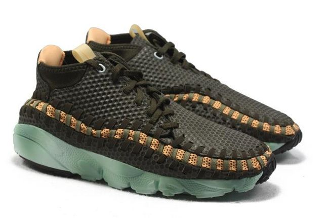 Nike Air Footscape Woven Brown Mint Hero 1