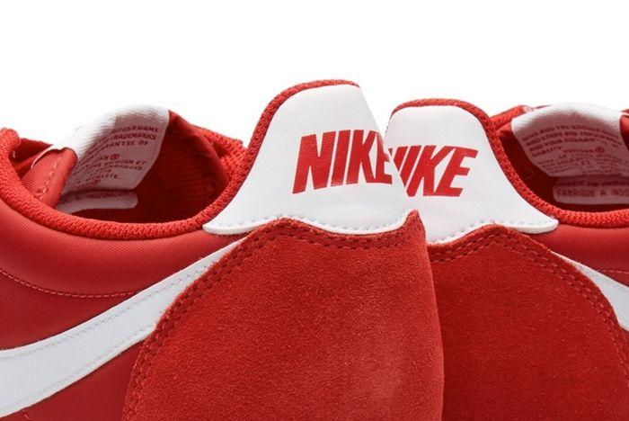 Nike Cortez Nylon Gym Red 1