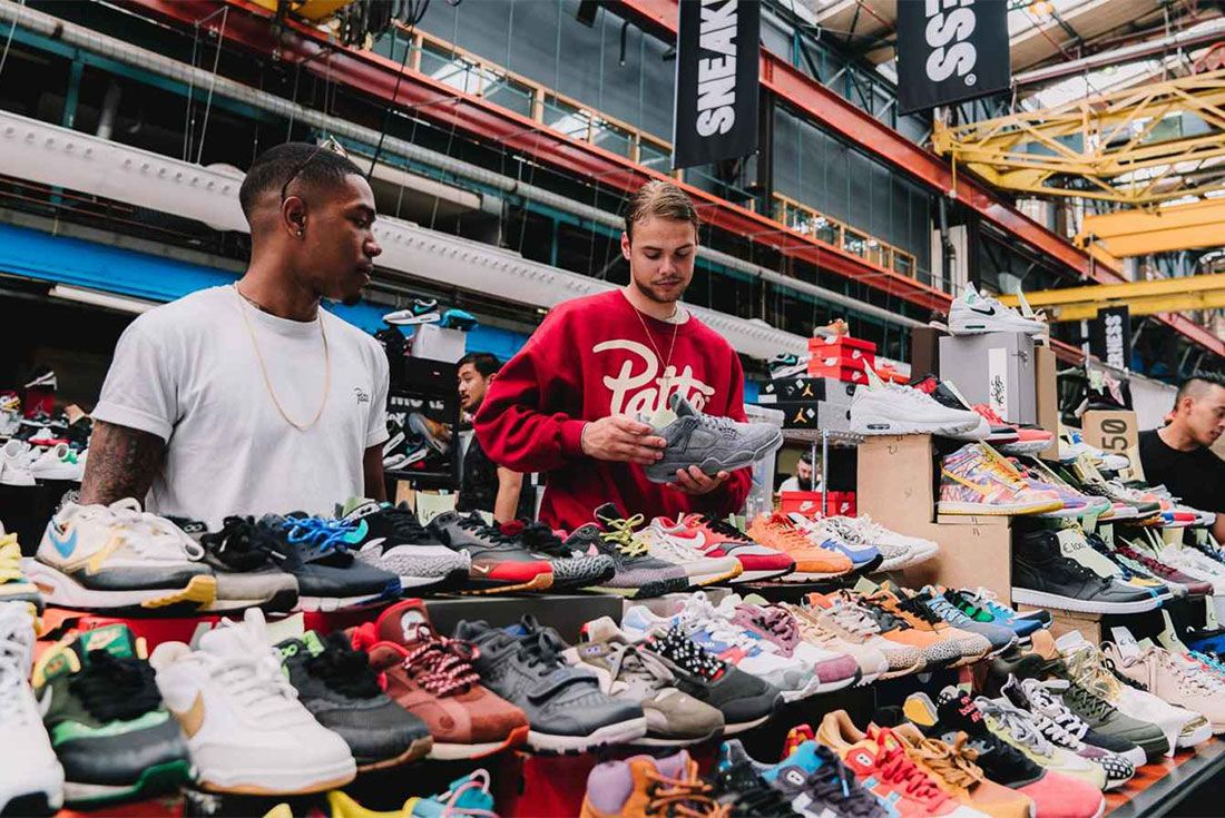 Sneakerness Event Stall Shot