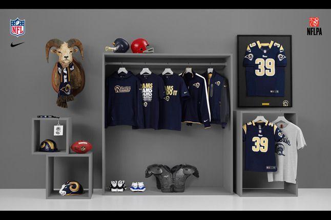 Nike Nfl Fanwear Stl Rams 2012 1