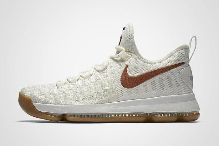Nike Zoom Kd 9 Texas Cream Gum Thumb