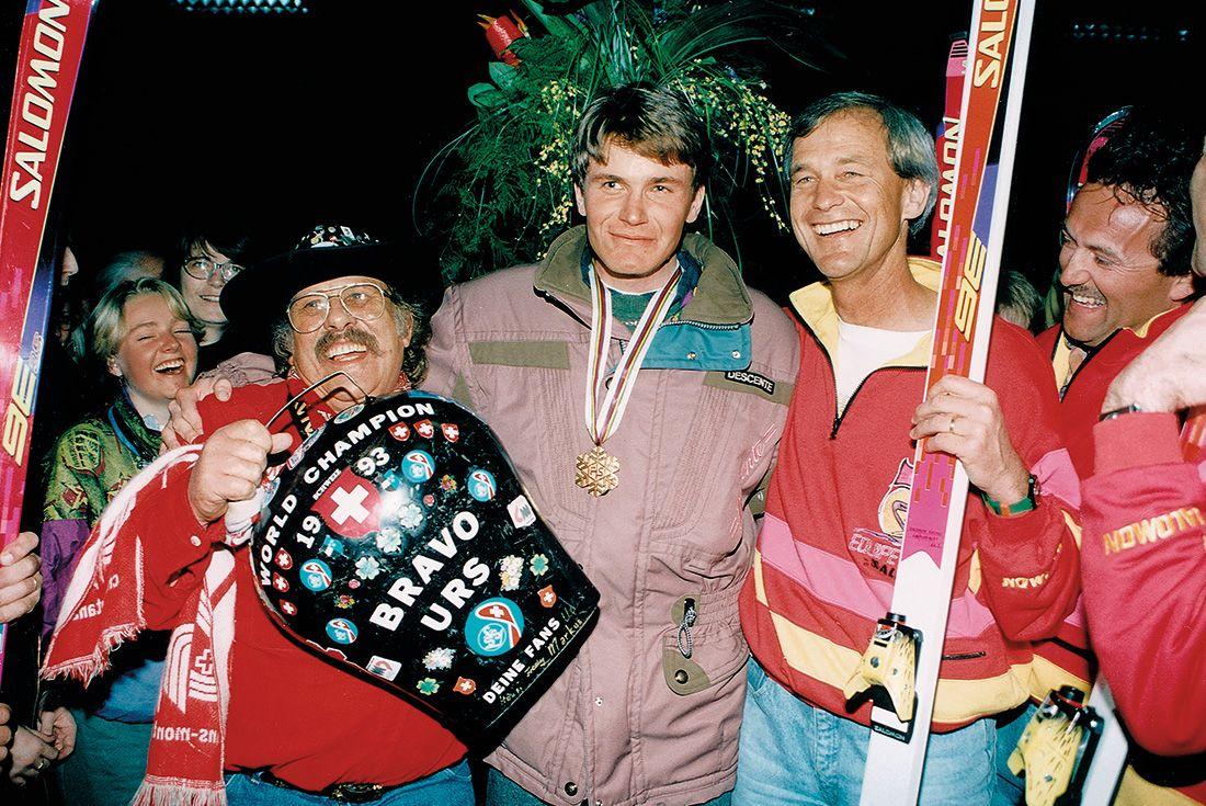 1993: World Champion Urs Lehmann