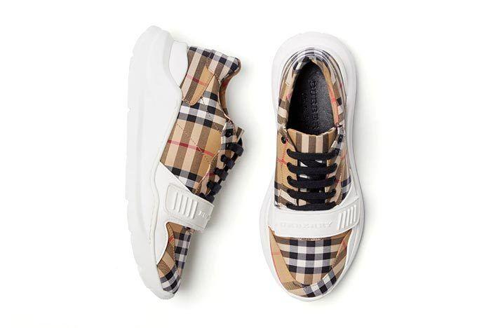 Burbery Vintage Check Sneaker 1