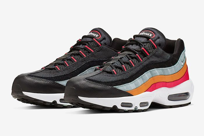 Nike Air Max 95 Black Kumquat All