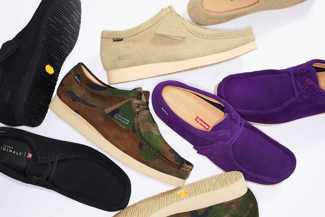 Supreme Clarks Wallabee Gore Tex 2019