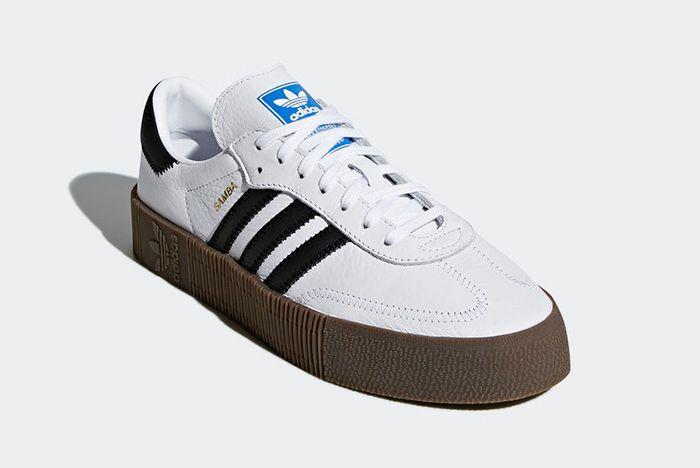 Adidas Sambarose White 3