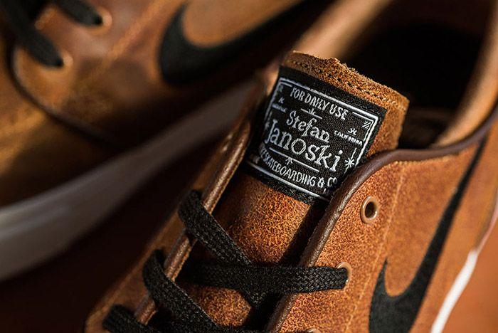 Nike Sb Stefan Janoski Ale Brown Leather 2