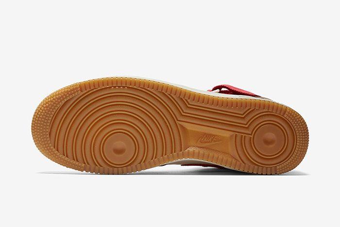 Nike Air Force 1 Red Denim 1