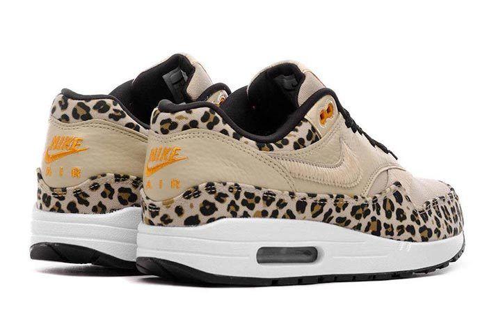 Nike Air Max 1 Leopard Heel Angle Shot 3